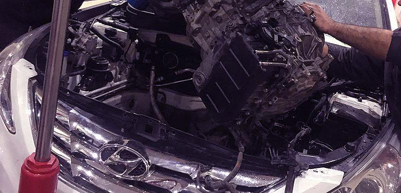 تعمیرات موتور و گیربکس خودرو