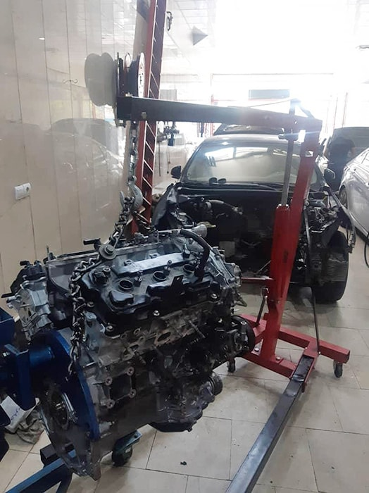 تعمیر تخصصی موتور هیوندای و کیا