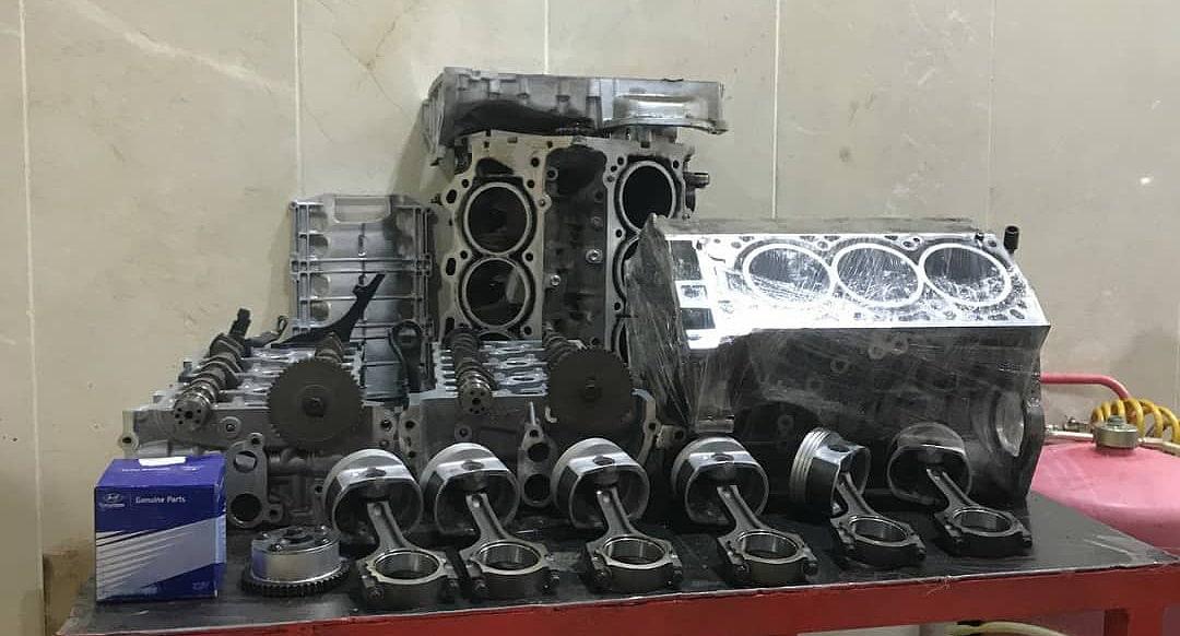 تعمیر اساسی موتور خودرو