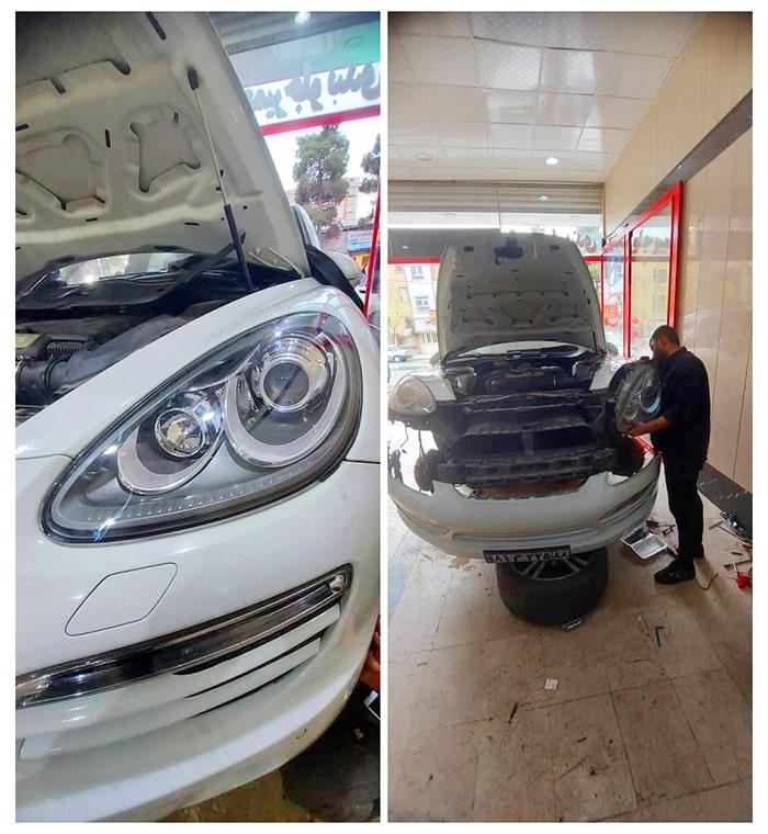 تعمیر چراغ خودرو