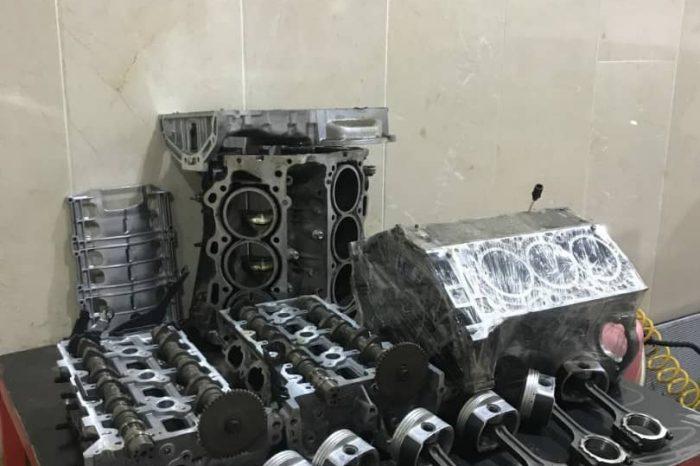 تعمیر موتور خودرو